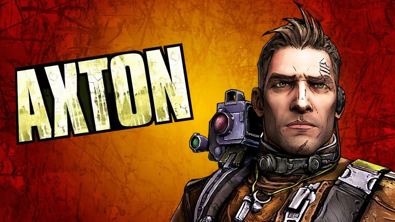 Borderlands 2 character: Axton the Commando
