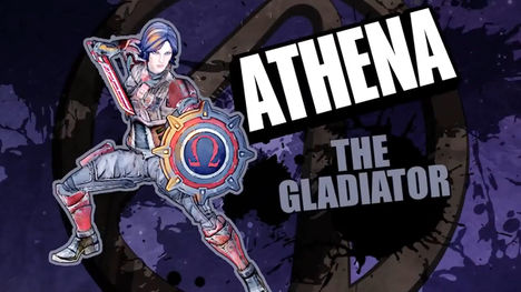 Borderlands Pre-Sequel character: Athena the Gladiator