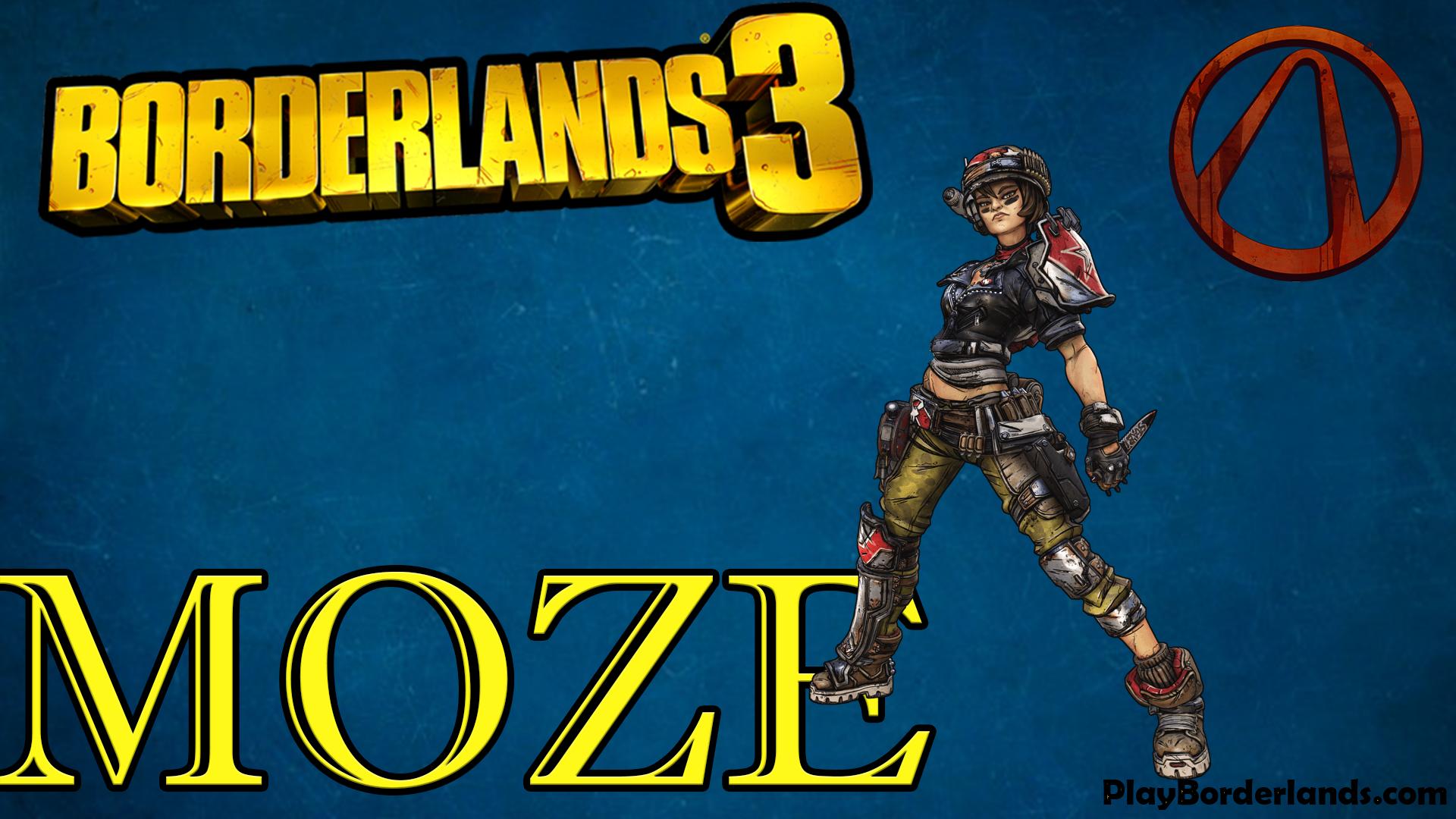 Moze borderlands3 character