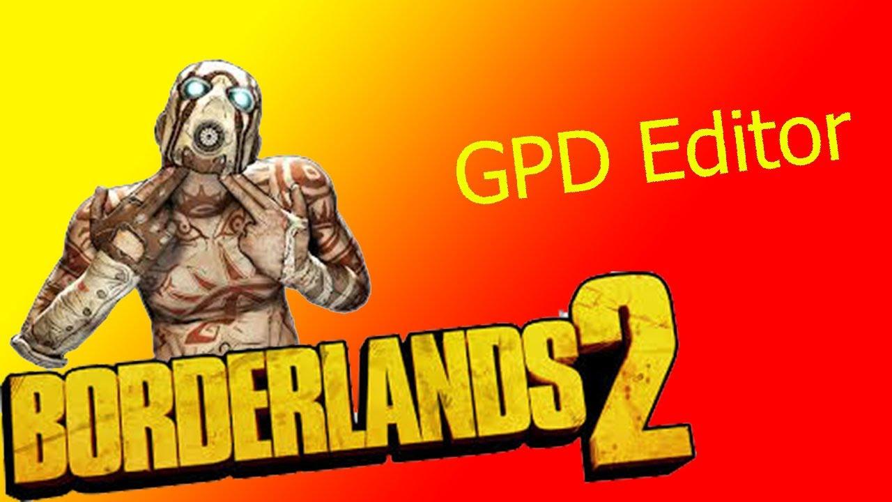 GPD editor xbox tuto