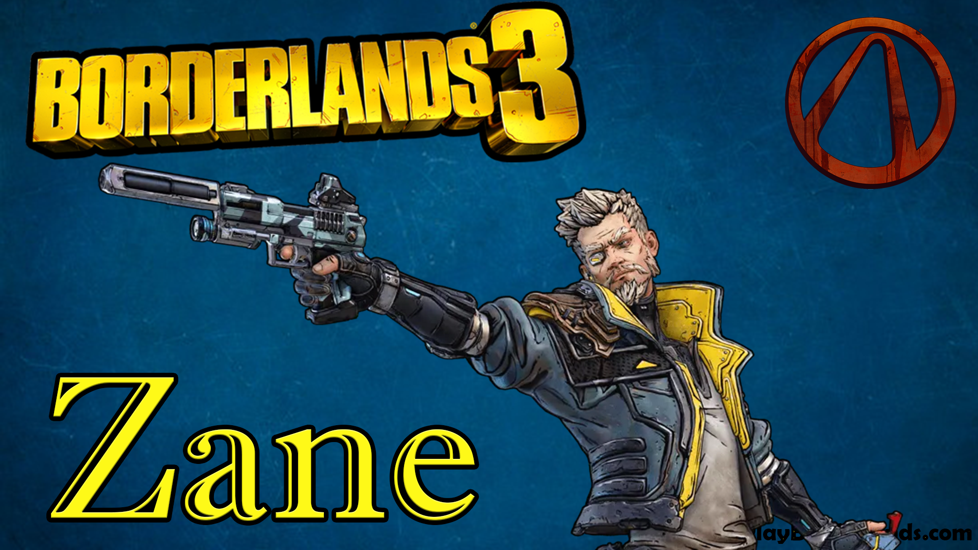 Zane character Borderlands 3