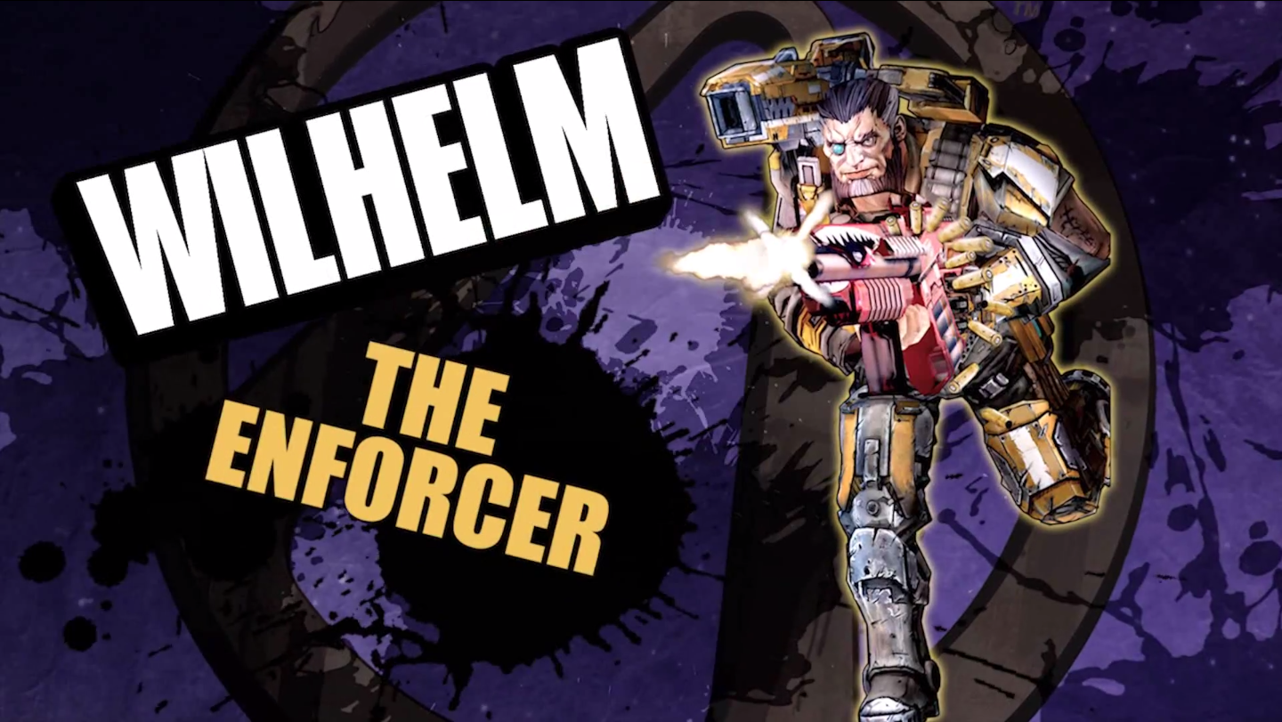 Borderlands Pre-Sequel character: Wilhelm The Enforcer