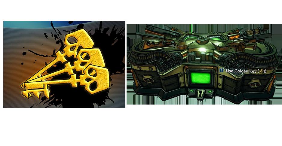 Golden keys & Golden Chest